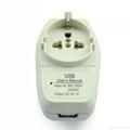 Euro type Universal Travel Adapter Kit w/ USB charger(ASTGFDBU-SBvs) 4