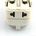 Euro type Universal Travel Adapter Kit w/ USB charger(ASTGFDBU-SBvs) 5
