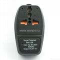 大南非旅游转换器带USB充电(WASDBUvs-10L-BK) 3