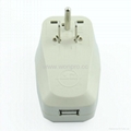 美日式旅游转换器带USB充电(WASDBUvs-5-W) 2