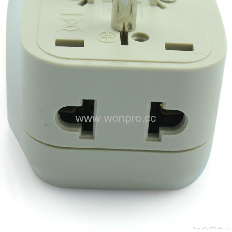 美日式旅游转换器带USB充电(WASDBU-5-W) 5