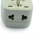 American Japan type Universal Travel Adapter with USB charger(WASDBU-5-W)  5