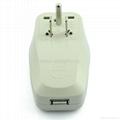 美日式旅游转换器带USB充电(WASGFDBUvs-5-W)