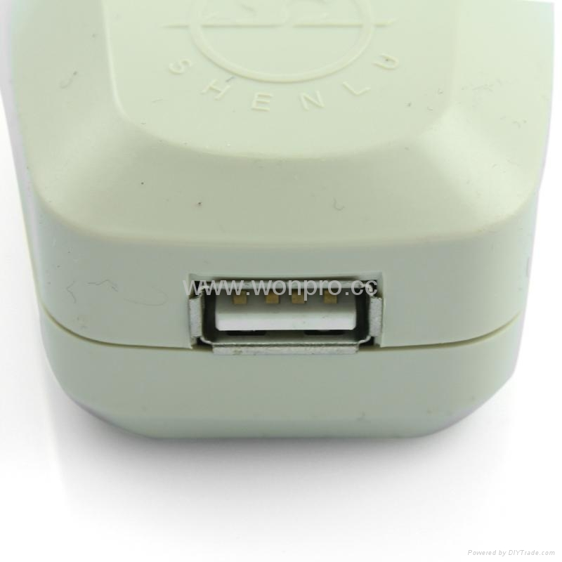 USA,Japan Travel Adapter with USB charger(WASGFDBUvs-5-W) 3
