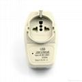 美日式旅游转换器带USB充电(