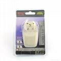 美日式旅游转换器带USB充电(WASGFDBU-5-W)