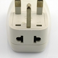 英式旅游转换器带USB充电(WASDBUvs-7-W)