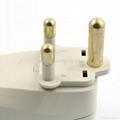 大南非旅游转换器带USB充电(WASDBUvs-10L-W)