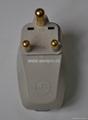 大南非式旅游转换器带USB充电(WASDBU-10L-W) 5