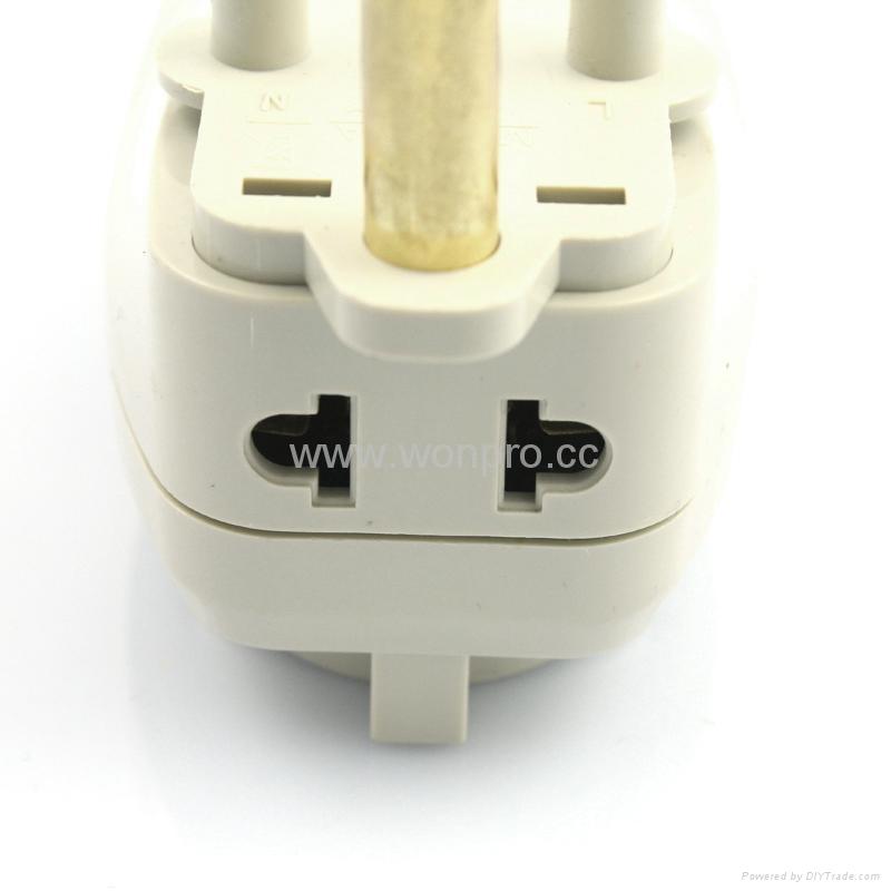 大南非式旅游转换器带USB充电(WASGFDBU-10L-W) 3