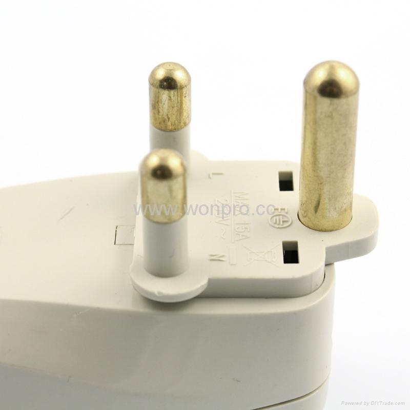 大南非式旅游转换器带USB充电(WASGFDBU-10L-W) 4
