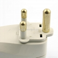 South Africa Travel Adapter with USB charger(WASGFDBU-10L-W) 4