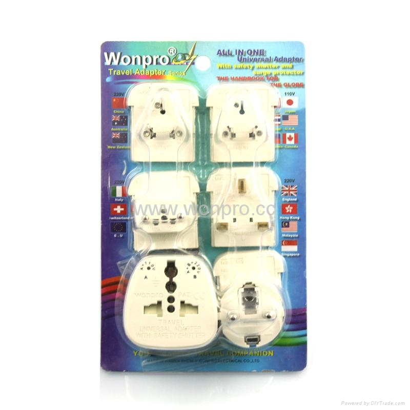 All in One Travel Adapter Kit(OAST-P5vs) 1