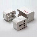All in One Travel Plug Adapter kit 3 sets(WUA-004-PP)