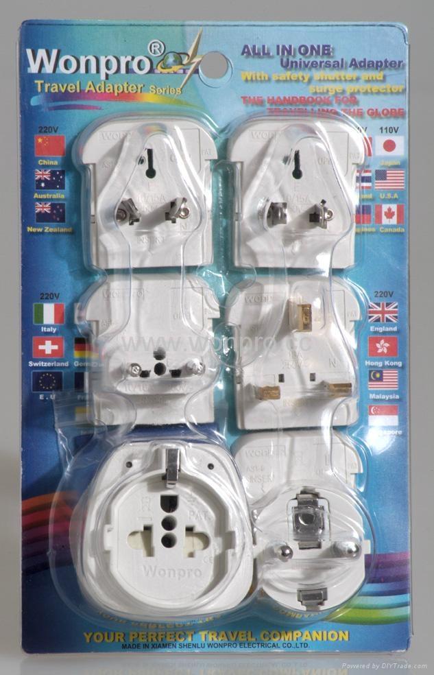 欧洲通旅游转换器组(OASTGF-P5vs)