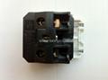 Inlay Way Industrial Universal Socket w/shutter & screw 2P+E(BSF-R4TS-W 16/20A) 5