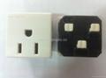 US standard socket-outlets 2P+E10A250V(R5A-W) 5