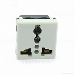萬用多用途產業大功率插座16/20A 250V 7KV 2P+E(R4TN-W))