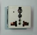 Universal receptacle module w/power