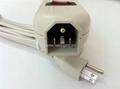 防雷型五位美标多用插座转换器(WE5R5A-IU105)