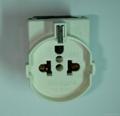 European Universal socket 2P+E(RGF-W)