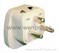 欧式万用旅游转换器附突波吸收保护器(WASGFDBvs系列) 5