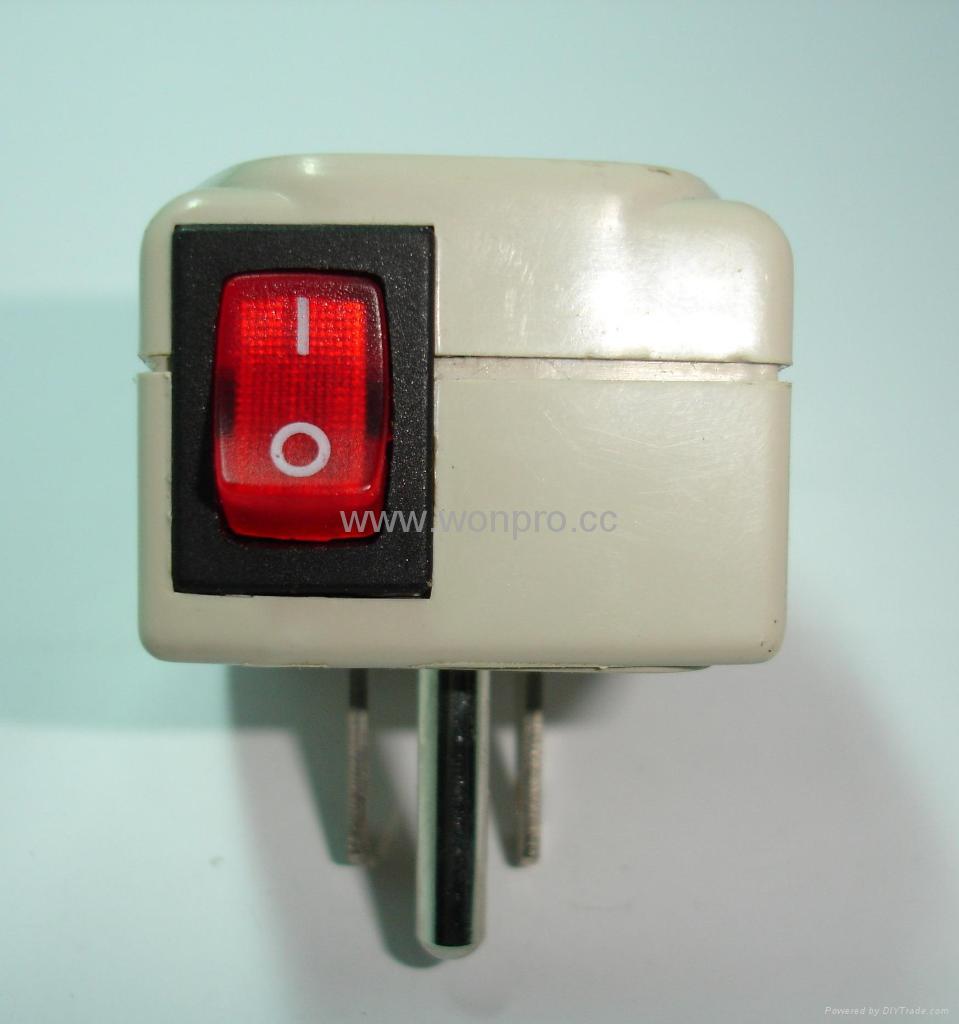 万用子母转换器附有开关带灯(WSAII系列) 4