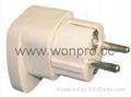 欧式万用安全旅游转换器附有双电压指示与突波吸收器(WASGFvs系列) 4