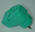 万用子母旅游转换器附有双电压指示与突波吸收器(WAIIvs系列)