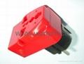 万用子母旅游转换器附有双电压指示与突波吸收器(WAIIvs系列) 4