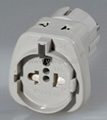 European Univeral Travel Adapter w/