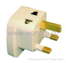 欧洲万用旅游转换器附有二脚万用插座(WASGFDB系列) 3