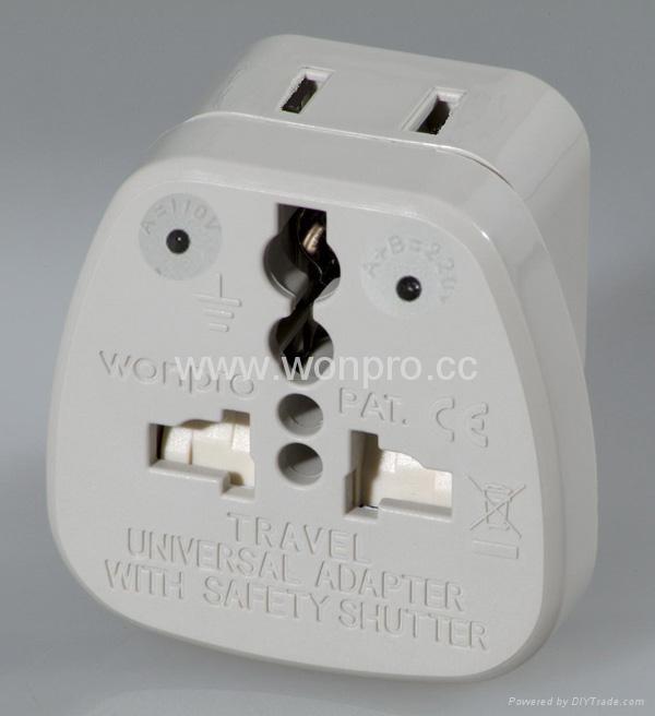 万用安全旅游转换器附有双电压指示灯(WASDvs系列) 1
