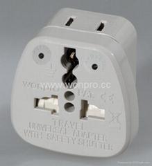 萬用安全旅遊轉換器附有雙電壓指示燈(WASDvs系列)