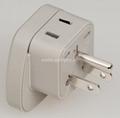 万用安全旅游转换器附有双电压指示灯(WASDvs系列)
