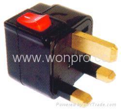 Wonpro travel adapter w/switch series (socket plug)(WSA Series) 3