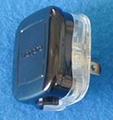 标准美标二极无接地自配线插头15A125V黑色(WSP-6-1BK)