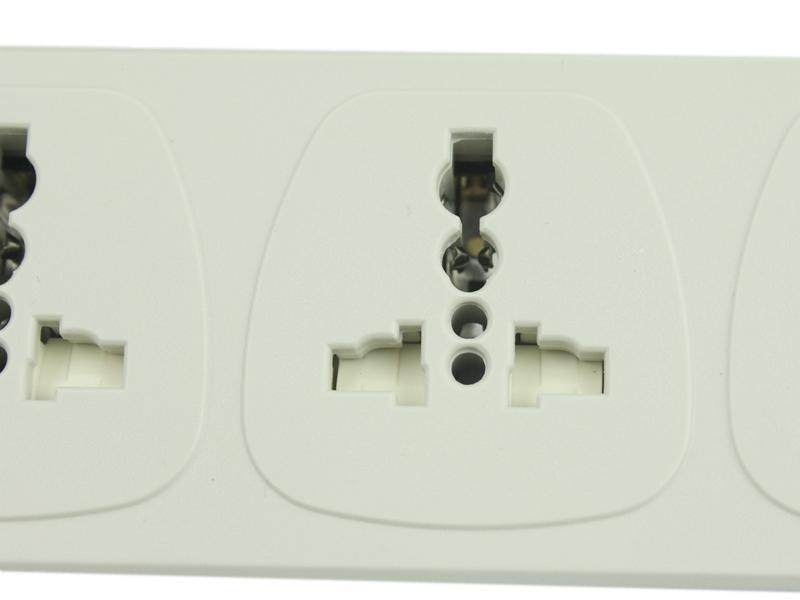 国际标准插座设计 专利插孔设计 安全门设置 合理插座间距