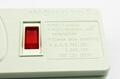防雷型三位全球通安全插座延长线带IEC C14接口 排插 中间转换器
