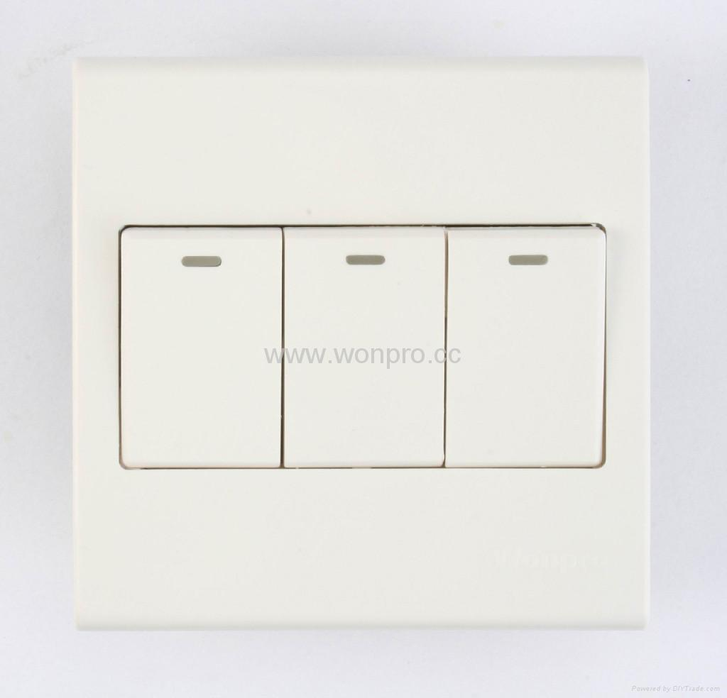 WF86CN series Advanced Wall Switches 4