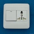 WF86N Switches+Universal Socket series