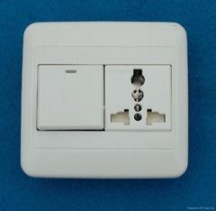 WF86N开关+万用多用途插座系列