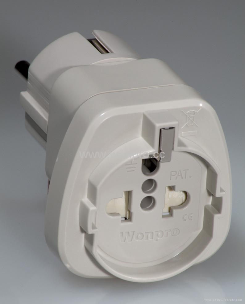 European Univeral Travel Adapter (WASGF series) 2
