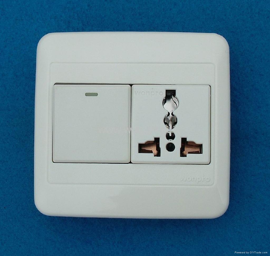 WF86N开关+万用多用途插座系列 2