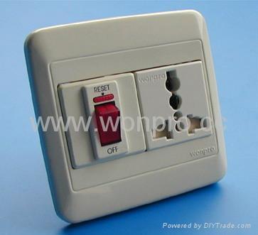 WF86N开关+万用多用途插座系列 3
