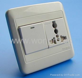 WF86N开关+万用多用途插座系列 4