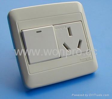 WF86N开关+万用多用途插座系列 5