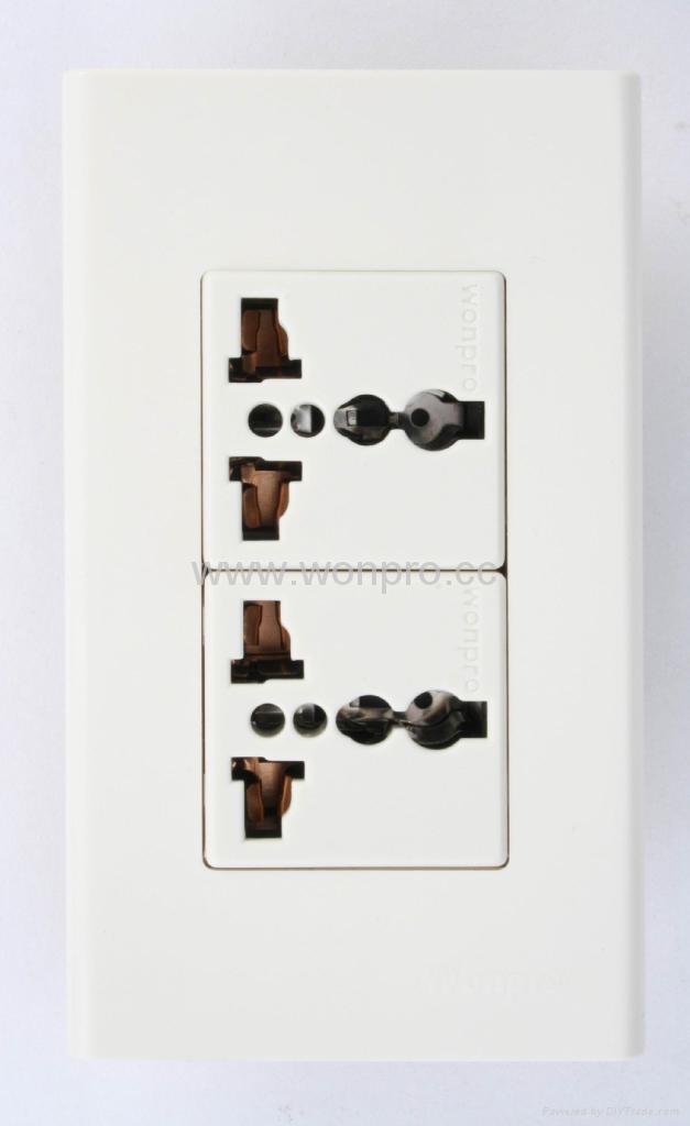WFN系列高级万用插座 1