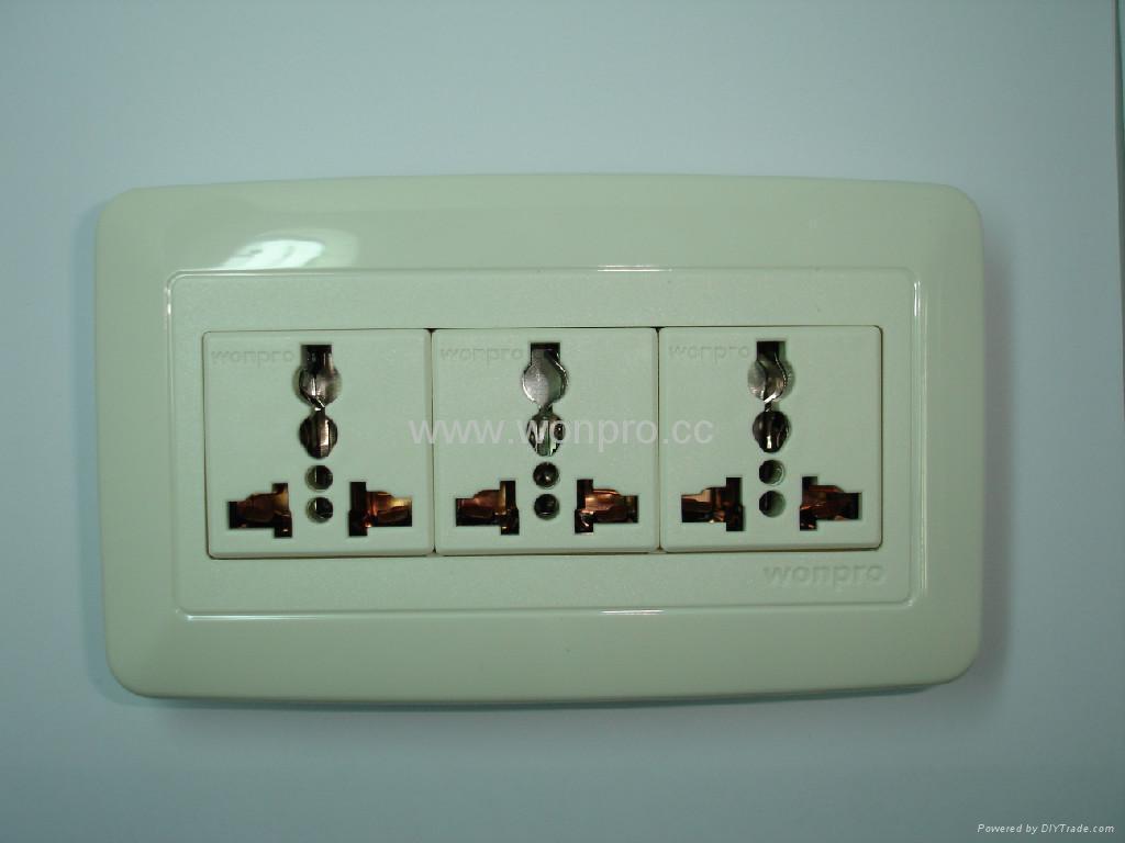 WFL系列高级万用插座 1