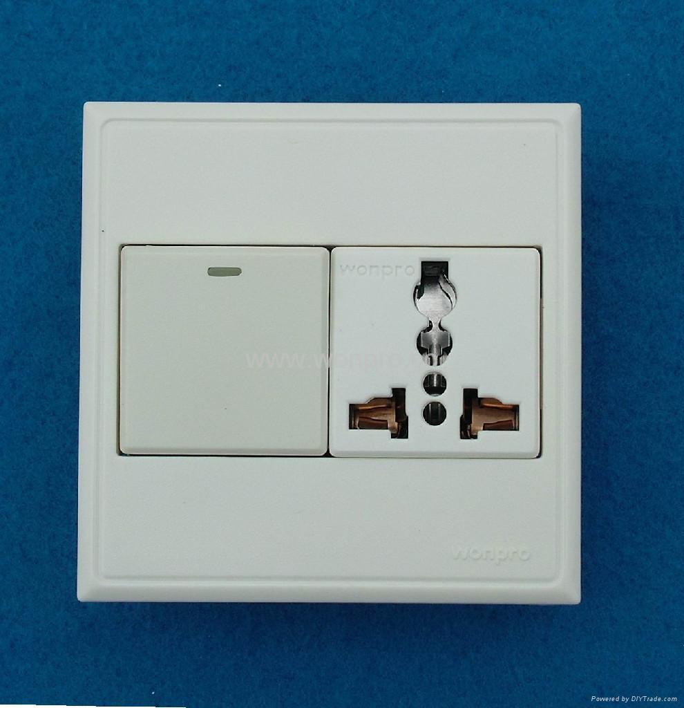 WF86CN Switches+Universal socket series 2
